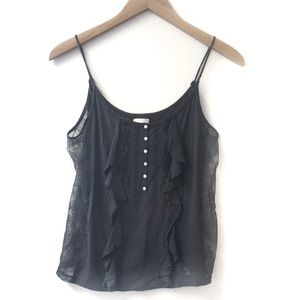 Abercrombie & Fitch lace detailed tank top